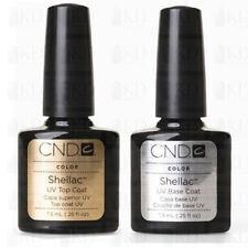 CND Shellac Original 2 x 7,3ml Top Coat /Base Coat Unterlack/Uberlack