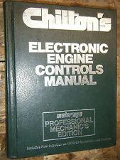 1978-1985 CHILTON ELECTRONIC ENGINE CONTROLS MANUAL IMPORT  DOMESTIC CARS TRUCKS