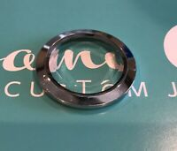 Origami Owl Large Silver Prism Twist Face - NEW & Authentic