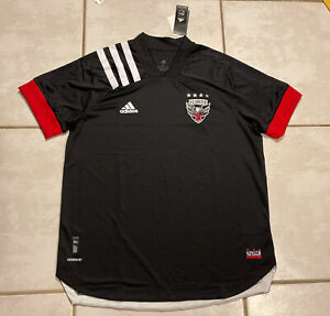 NWT ADIDAS DC United MLS 20/21 Authentic Home Jersey Men's XL EH8688 MSRP $130