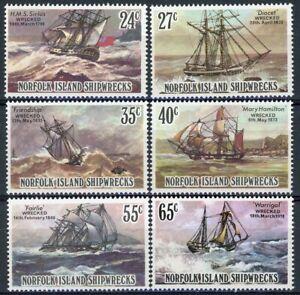 sa4609 Norfolk Is - Sc#293-98 MNH