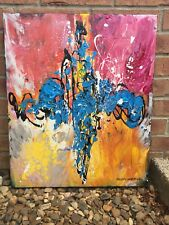 Cross 20 X 24 X 2  Acrylic On Canvas original paintings By Paloma Anderson