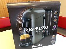 NEW BREVILLE NESPRESSO VERTUO PLUS COFFEE AND ESPRESSO MAKER GREY
