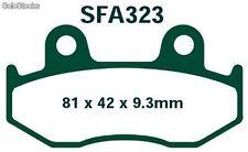 SFA 323 PASTILLAS SFA HONDA SH 125/150 ANT. Honda scoopy pastillas de freno EBC