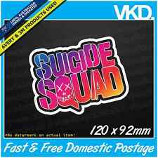 Suicide Squad Sticker/Decal - Funny Car Parts Tools Shed Mechanic Truck Ute