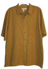 MINT! THE TERRITORY AHEAD Men's Short Sleeve Button Shirt Southwest Camp LARGE