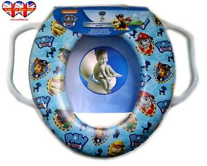 Baby Toilet Seat Children's Paw Patrol  Soft Padded (Training Seat)