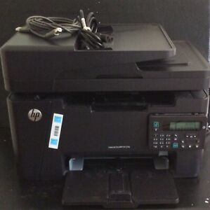 HP Laserjet Pro MFP M127fn Multifunction Copy Fax Scan Printer! Tested