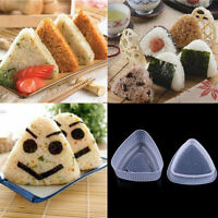 Cute Triangle Form Sushi Mould DIY Onigiri Rice Ball Bento Press Maker Mold Tool