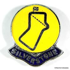 Silverstone - Vintage Motorsport Motor Racing Circuit Enamel Lapel Brooch Badge