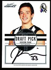 2012 Select Eternity Jackson Paine Draft Pick Signature Collingwood Pies No 097
