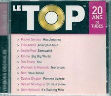 CD COMPIL 10 TITRES--LE TOP VOL 6--SARDOU/ARENA/SHARP