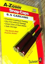 A-ZOOM Action Proving Dummy Round Snap Cap 6.5mm Carcano 2 Pack   # 12291  New!