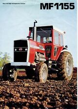 Massey Ferguson Mf 1155 Tractor Parts Manual 260pg for Mf1155 Service & Repair