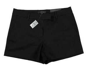 NWT Ann Taylor Size 8 Petite Black City Short Devin Fit Women's Shorts