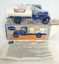 ERTL 1931 HAWKEYE TANKER BANK CROWN GASOLINE NEW BOX