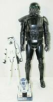 "STAR WARS ACTION FIGURES WITH A 19"" & 11"" STORM TROOPER + 5"" R2D2 Yr 2009 & 2016"