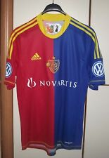 BASEL SWITZERLAND 2012/2013 HOME PLAYER ISSUE FORMATION FOOTBALL SHIRT JERSEY