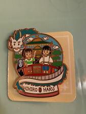 Spirited Away Globe Haku Chihiro Fantasy Pin