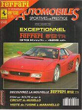 AUTOMOBILES SPORTIVES ET DE PRESTIGE 28 FERRARI 512 TR ASA 1000 GT PORSCHE 968 C
