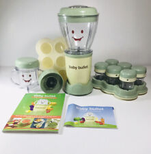 Magic Baby Bullet Organic Food Blender Processor & Storage System w/ Accessories