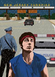 Bruce Springsteen - State Trooper - (signed) Art Print - Jarod Art