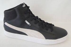NEU Puma 1948 Mid L Men Größe 45 Leder Schuhe Boots Sneaker 359169-03 BLACK