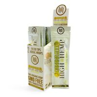 High Organic Wrap 25 Pouch in Box 2 in a Pouch 50 Wraps NEW Banana - goo