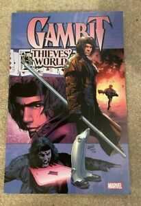 Marvel Comics: Gambit Thieves' World Paperback