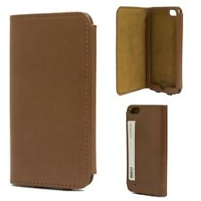 Skech Lisso Genuine Leather Wallet  Case for iPhone 5/5s/SE - Tan