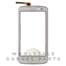 Digitizer Frame Assembly for LG P930 Nitro HD White Front Window Panel