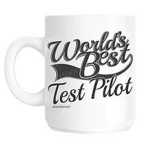 Test Pilot World's Best Novelty Gift Mug shan912