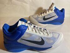 Nike Hyperfuse Low 2011 White/Royal 429614 127 MISMATE Left Sz8 Right Sz8.5
