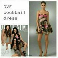 DIANE VON FURSTENBERG | Womens Brighton Cocktail Dress [ Size AU 4 / US 0 ]