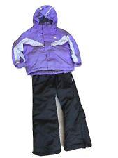 Trespass Crawley Boys Girls Ski Suit Age 3-4 Years Jacket Bib Salopettes Clover