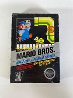 Mario Bros. Arcade Classics Series - Nintendo NES