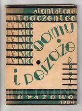 1934 Poland FUTURISM DADAISM Stanisław MŁODOŻENIEC Futuro-Gamy i Futuro-Pejzaże
