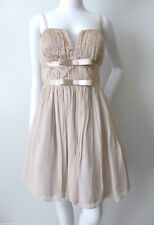 SEDUCE BE SEDUCED LUXE rrp $399.99 Size 12 US 8 Silk Beaded Fit and Flare Dress
