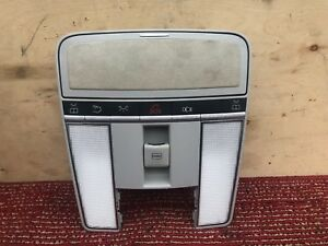 MERCEDES CL600 CL550 S600 SUEDE OVERHEAD ROOF CONSOLE DOME LIGHT LAMP OEM 109#