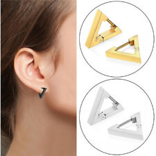 Gift Unisex Earrings Geometric Ear Studs Ladies New Alloy Fashion Goth Jewelry