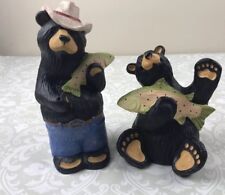 RARE RETIRED Big Sky Carvers Bearfoots Bears Bear Jeff Fleming Redneck Chuckie