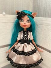 Handmade Dress and Hairband for Monster High Doll