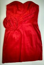 Masquerade Red Short Formal Prom Evening Party Cocktail Fancy Dress Size 3/4 NWT
