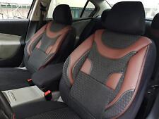 Fundas para asientos de coche referencias para seat ibiza negro-rojo v359690 delanteros