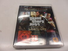 PlayStation 3 ps3 Grand Theft Auto IV & episodes from Liberty City-t USK 18