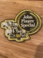 Vintage Sew-on Patch John Player Special Formula One Car
