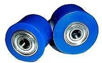 RFX BLUE CHAIN ROLLERS Yamaha YZ 125/250 YZF 250/450 00-17 MOTOCROSS 32/38 BLUE