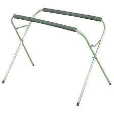 "3/4"" Steel 200 Lb. Capacity Portable Work Stand W Foam Cushions to protect work!"