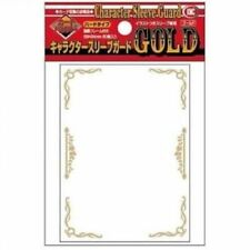 KMC Character Guards Card Game Over Sleeves Clear Gold Frame Design 60CT
