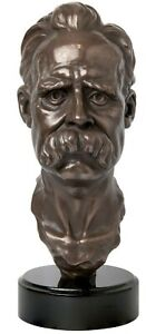 Friedrich Nietzsche | Sculpture / Bust | Philosopher | gift, bookshelf, office